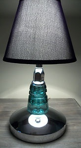 Insulator Glass Vanity Light : 17 Best images about glass insulators on Pinterest Antique glass, Glass insulators and Vanity ...