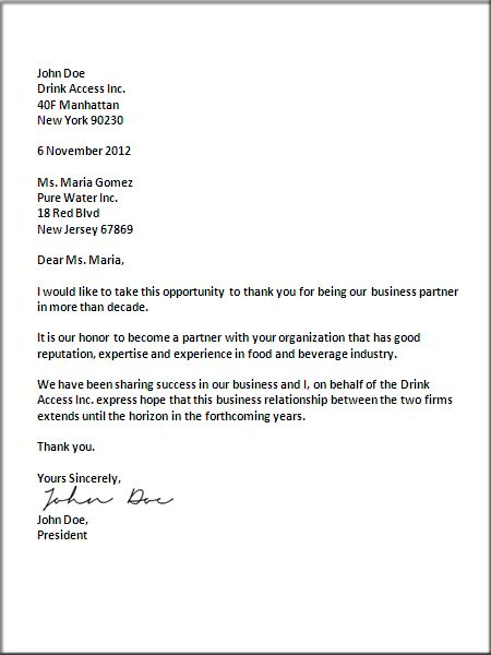 Best 25+ Business Letter Format Example Ideas On Pinterest