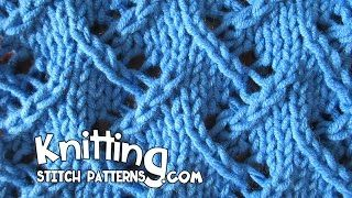 Knitting Stitch Patterns - YouTube
