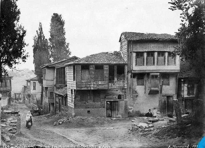 Üsküdar / 1887 Alfred Nicolas Normand