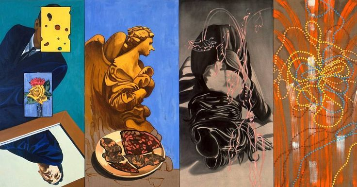 David Salle is a featured artist in the The Figurative Aritsts' Handbook by Rob Zeller @robzellerart and Monacelli Press. Salle is an incredibly influential painter, printmaker, and stage designer who helped define postmodern sensibility. He earned a...