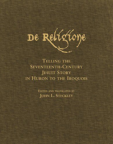 De Religione: Telling the Seventeenth-Century Jesuit Story in Huron to the Iroquois by Dr. John L. Steckley Ph.D http://www.amazon.ca/dp/0806136170/ref=cm_sw_r_pi_dp_otr2vb1XRTPG3