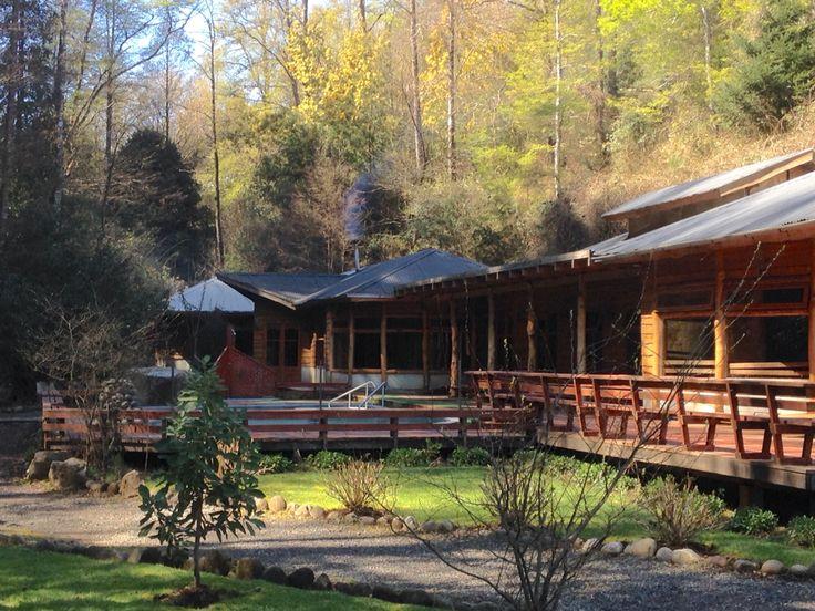 Termas de Montevivo, Curarrehue, Pucon, Chile.