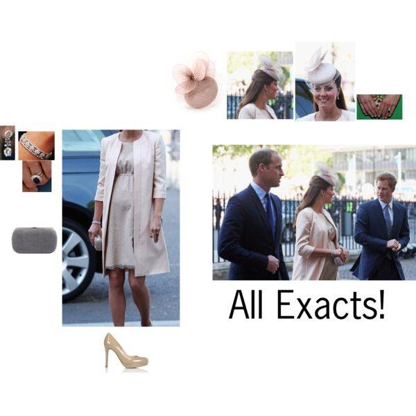The Duchess of Cambridge by hrhprincessanna on Polyvore featuring Alexander McQueen and Rachel Trevor-Morgan