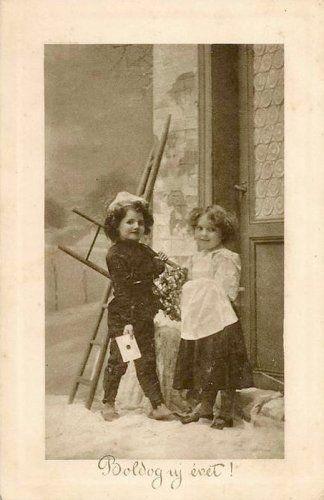 Rági képeslapok Új évre,Ismét régi képeslapok,Régi Újévi képeslapok,Boldog Új évet, - emilia71 Blogja -