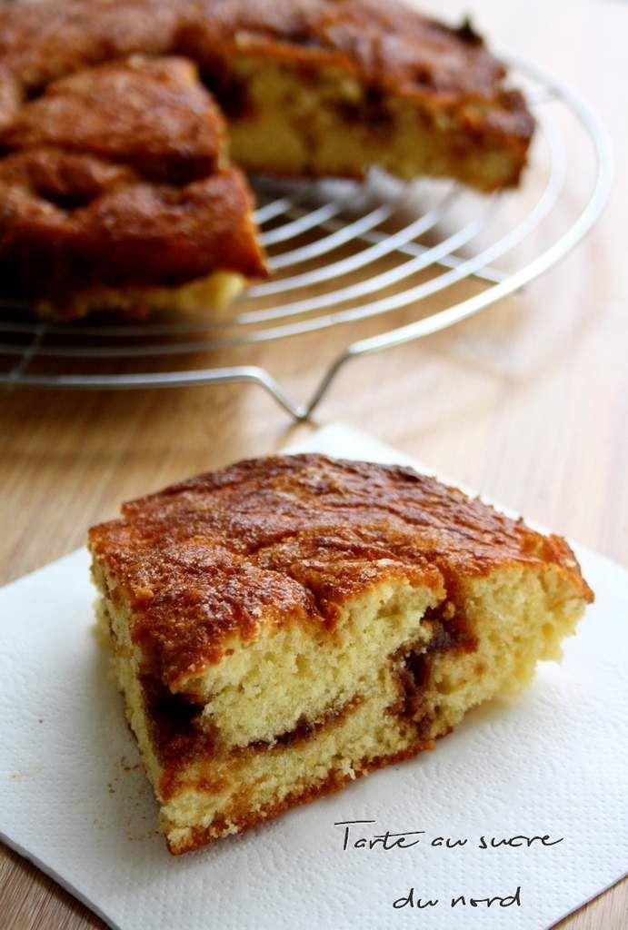 Voici une recette traditionnelle du Nord de la France d'où je suis originaire ! Si vous ne connaissez pas il s'agit d'une pâte levée à laquelle ont fait quelques trous avec le doigt pour y saupoudrer de la cassonade blonde ou brune selon le goût (pour...