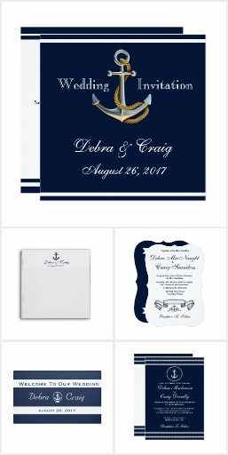 Nautical - Wedding Stationery Collection