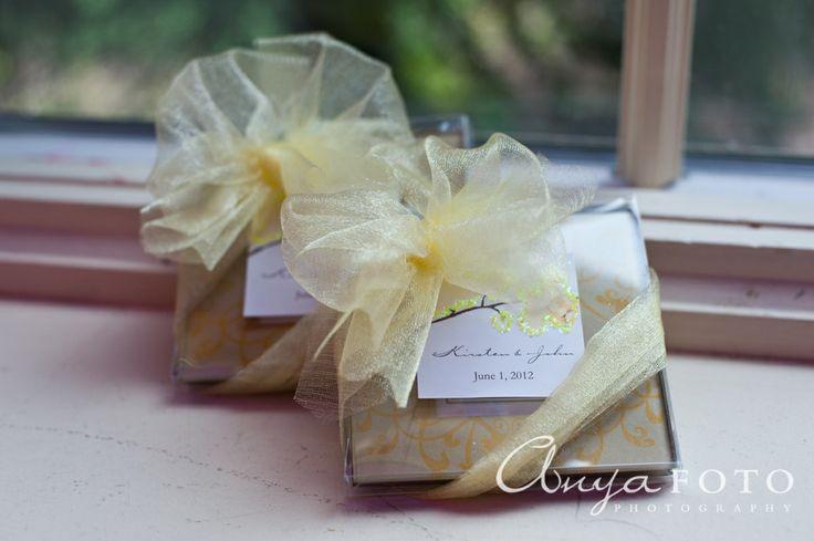 Wedding Favors anyafoto.com #wedding #weddingcakes, wedding favor ideas, wedding favor desings, yellow wedding favors, yellow wedding favor box, gold wedding favor box