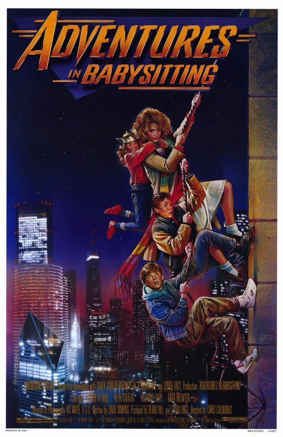 Adventures in Babysitting 11x17 Movie Poster (1987)