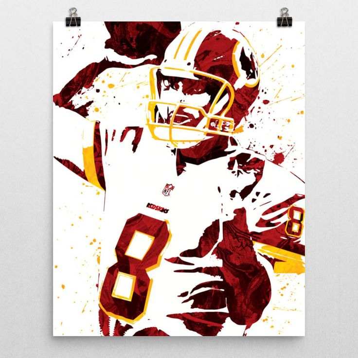 Kirk Cousins Washington Redskins Poster