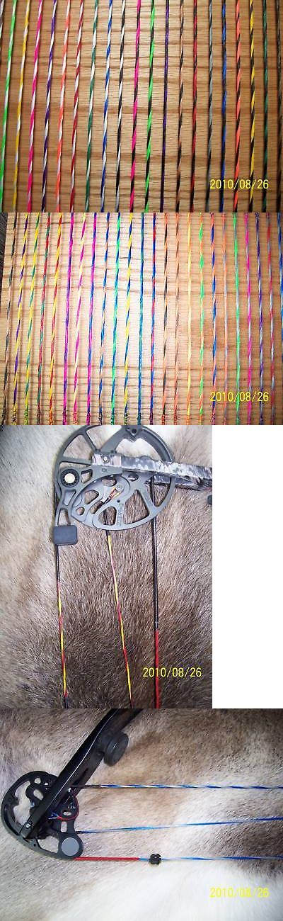 Strings 181305: Custom Bow String Set For Mathews Conquest 1,2,3,4 Or Any Mathews Bow BUY IT NOW ONLY: $39.99