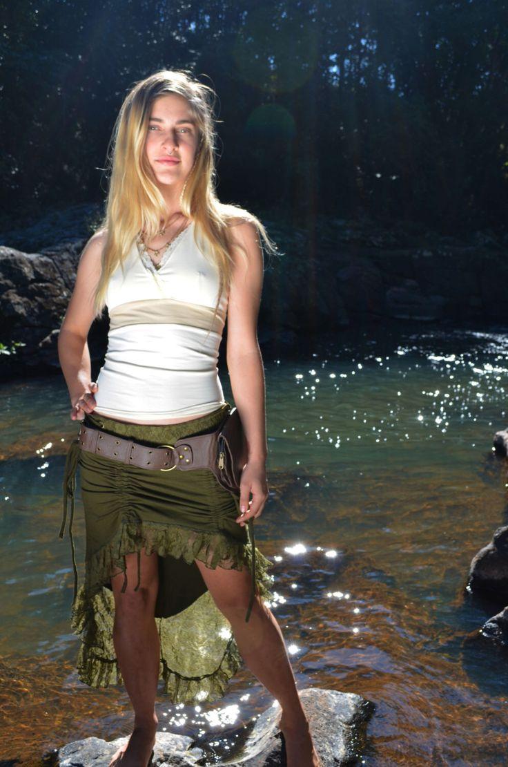 Diva gonna, bohemien, Pixie gonna, brigante, Faerie, elfico, fata, Goa, dea, gonna in pizzo, abbigliamento per la festa, Boho, Hippie di NatureSpiritDesigns su Etsy https://www.etsy.com/it/listing/200660898/diva-gonna-bohemien-pixie-gonna-brigante