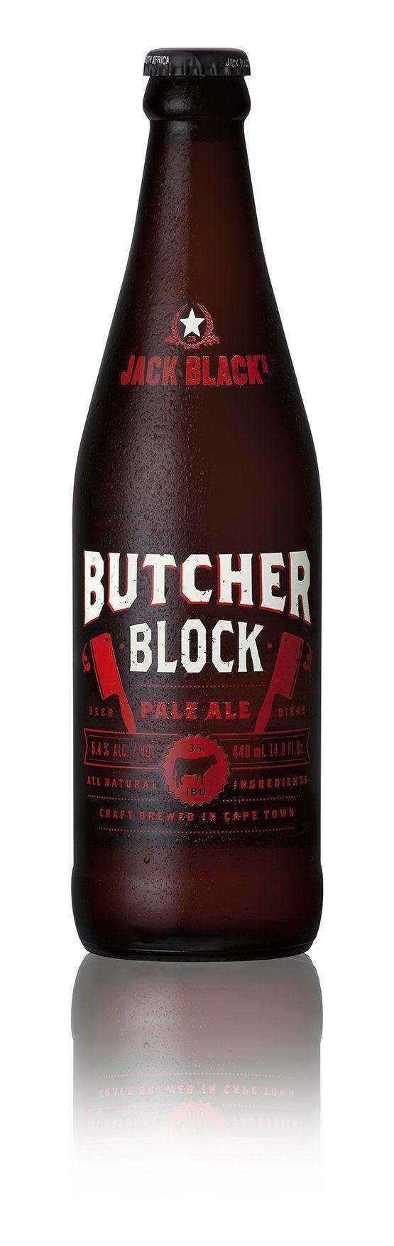 Craft Beer Pack Shots: Jack Black Butchers Block. www.bakkesimages.co.za