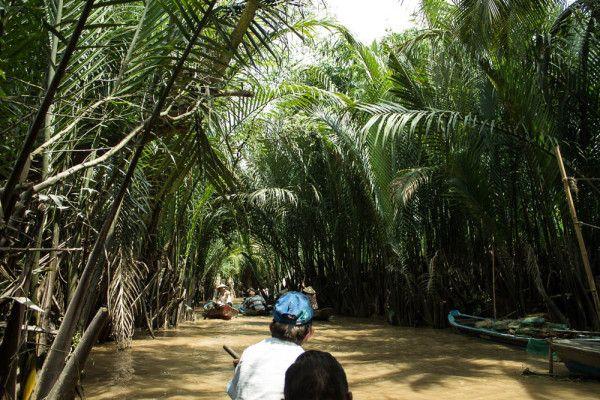 Cruising along the Mekong