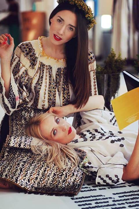 Diana Enciu & Alina Tanasa - Traditional ROmanian Costumes
