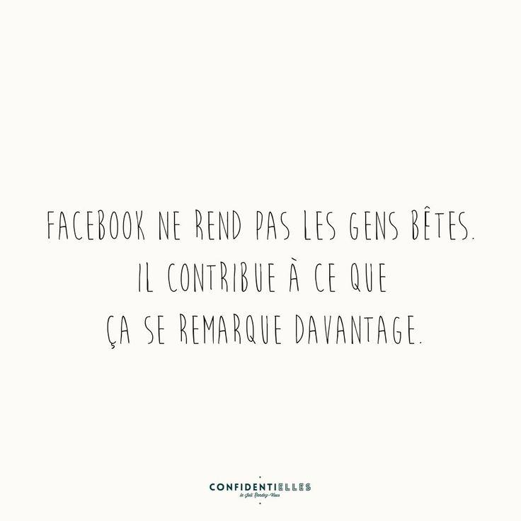 Mot de Facebook - Confidentielles