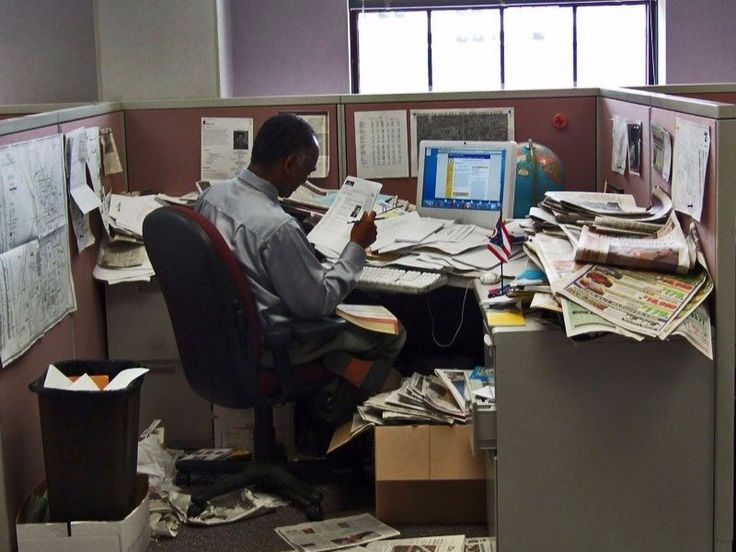 Does having a messy desk make you more productive? This article from Business Insider seems to think so.