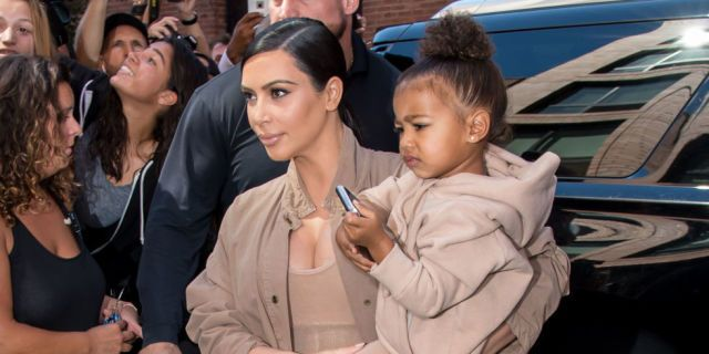 North West Does Kim Kardashian's Hair on Snapchat