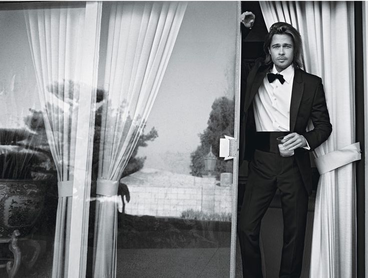 Brad Pitt photographed by Mario Sorrenti for W Magazine,February2012