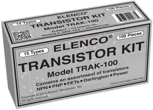 Amazon.com: Elenco Transistor Kit, 100-Piece: Toys & Games