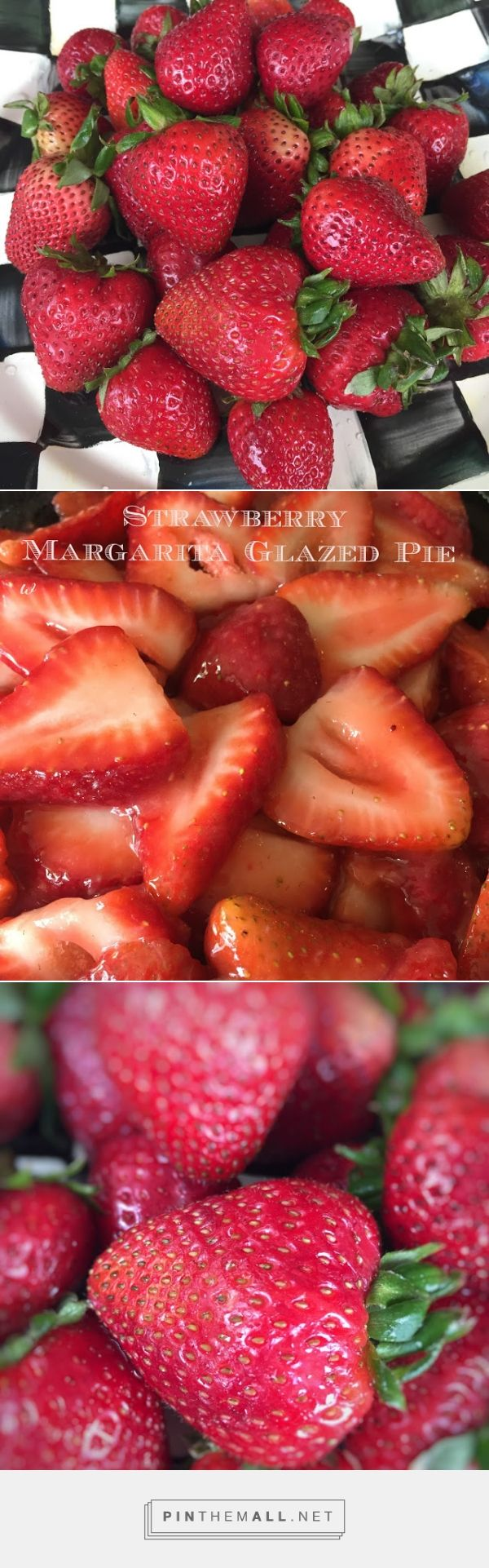 The Best Fresh Strawberry Pie with Strawberry Margarita Glaze -