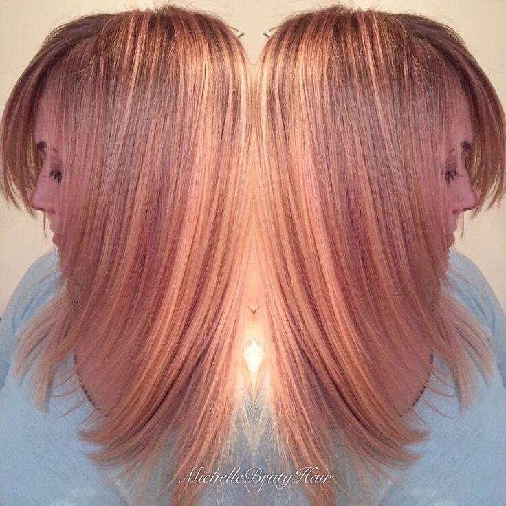 Schwarzkopf Blondme Strawberry and Apricot Toner Rose Gold Hair