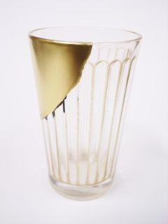 型吹きショットグラス : 小石原さんの金継ぎ 繕いのうつわ