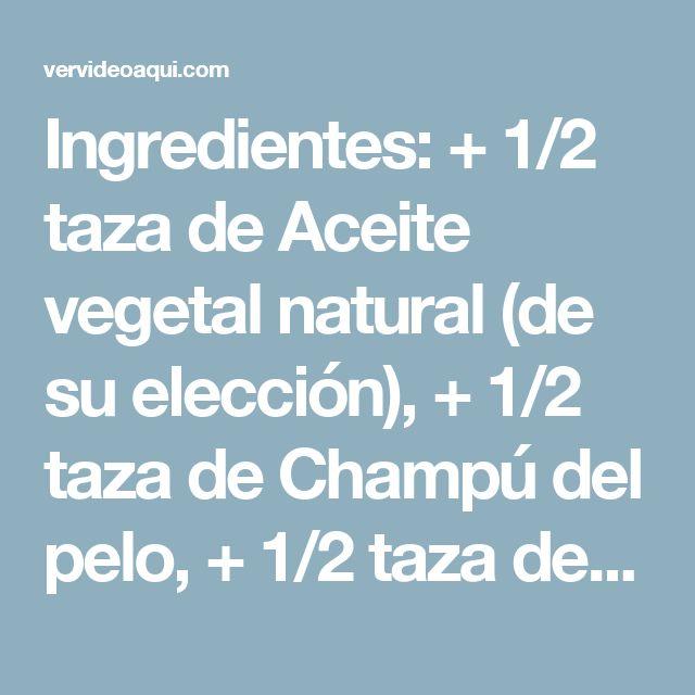 Ingredientes: + 1/2 taza de Aceite vegetal natural (de su elección), + 1/2 taza de Champú del pelo, + 1/2 taza de Vinagre natural con concentración de 9%.  Procedimiento: 1. En un recipiente mezcla muy bien los 3 ingredientes. 2. Coloca la mezcla en una botella de spray y rocía los ambientes donde deseas eliminar los mosquitos. 3. Puedes utilizarlo en las habitaciones, en el jardín, e incluso aplicarlo a tu piel como un repelente.