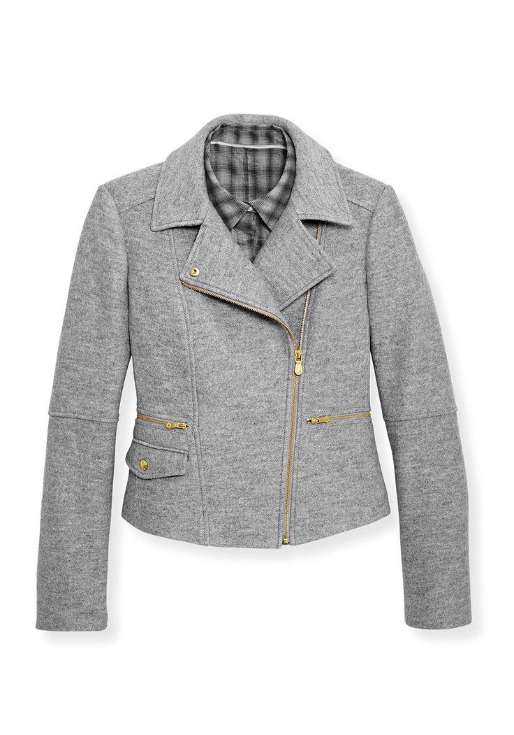 Wool Motorcycle Jacket