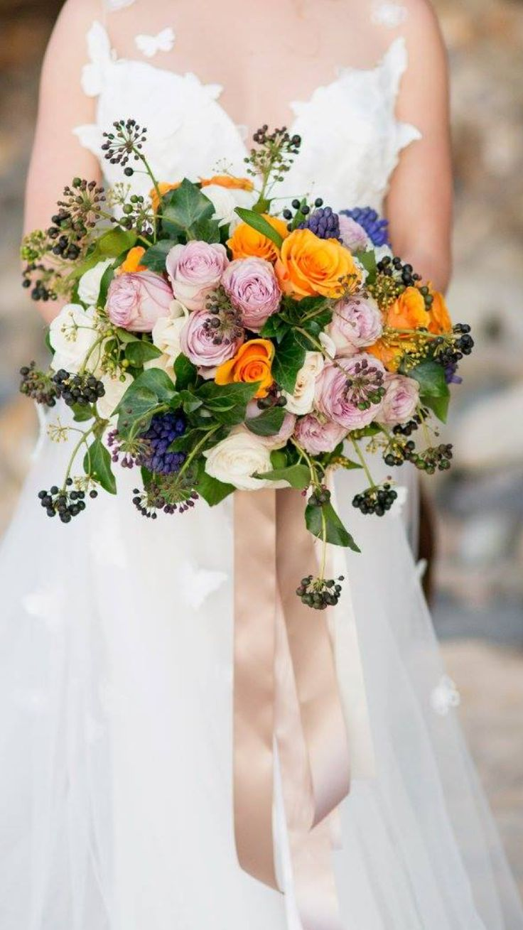 The 25 best hyacinth bouquet ideas on pinterest hyacinth orange lilac and cream roses amongst privot berries and bluepurple hyacinths bouquet for dhlflorist Choice Image