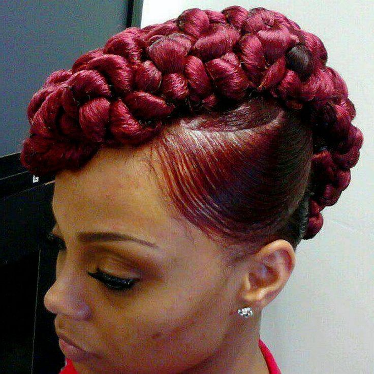 Mohawk Black Hairstyles Trends 2015 Decorating Beautiful