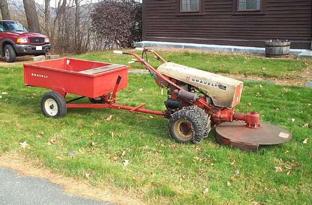Antique Two Wheel Tractor : Gravely wheel tractor which one should i get