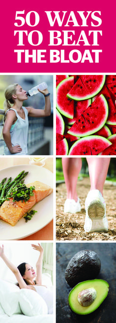 How To Get Rid Of Bloat - Foods That Cause Bloat - For days when you struggle with your skinny jeans, try one or more of these tricks that will have you feeling better in no time.