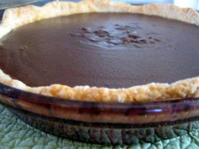 Mennonite Girls Can Cook: Chocolate Cream Pie......great chocolate pudding recipe!!
