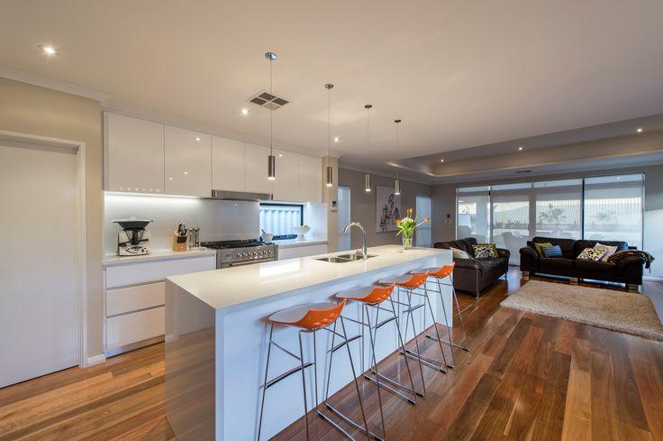 Vibrant and bright kitchen