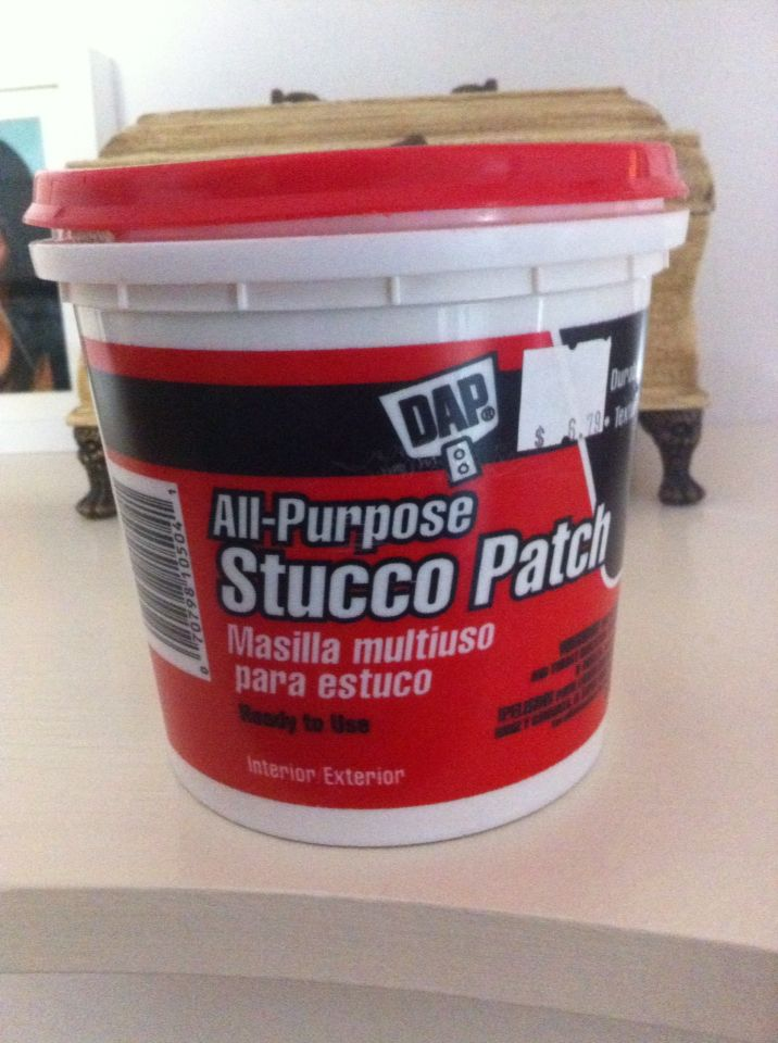 Stucco Patch To Fix Unsightly Holes And Blemishes In Walls A Little Goes A Long Way I 39 Ve Had