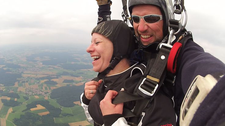 Breathtaking moments you will never forget. Tandem Skydive Tandemmichl
