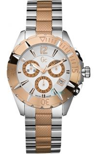 GUESS Collection Two Tone Chrono I47006M1 - http://rologia.org/guess-collection-two-tone-chrono-i47006m1/