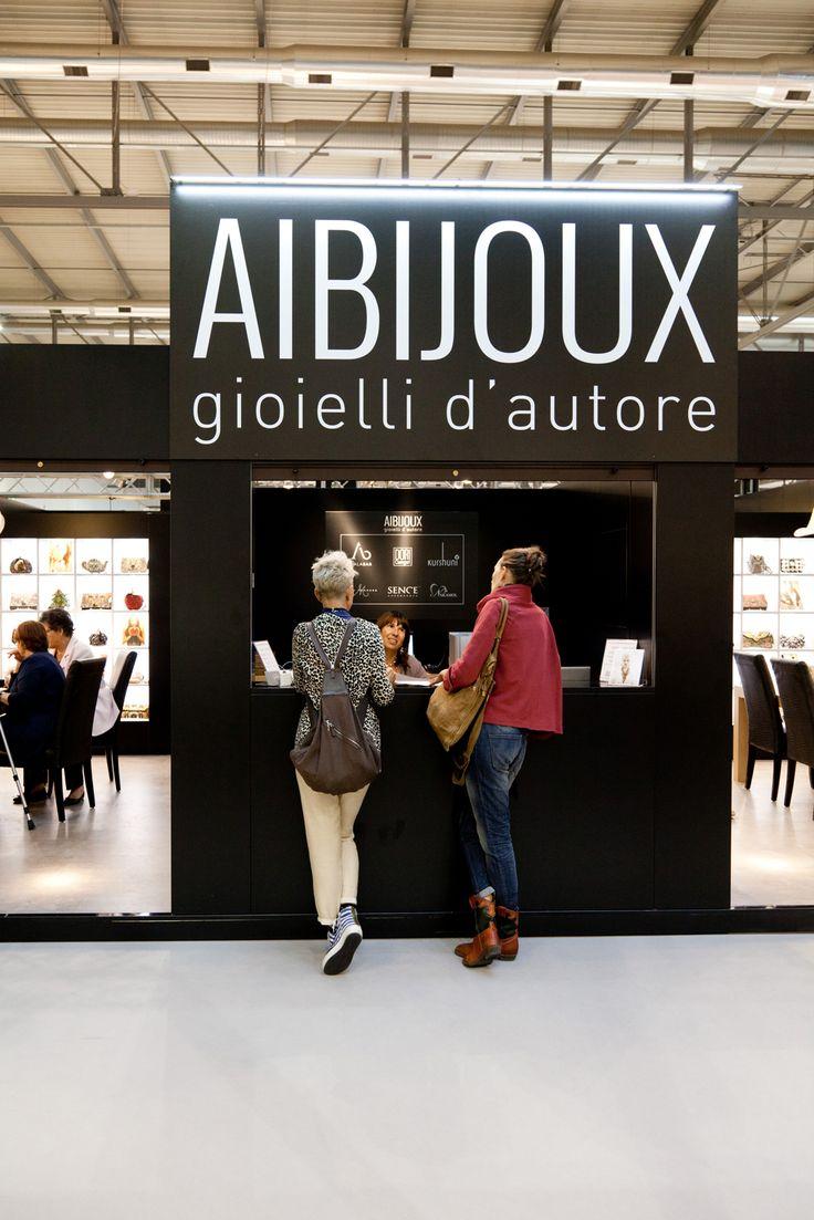 Aibijoux stand @Homi 2015   www.aibijoux.com  #designjewelry #HOMI15 #HomiMilano #AIBIJOUX
