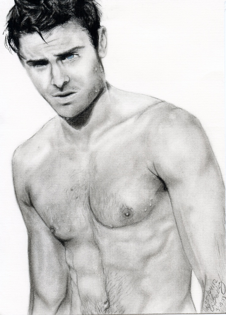 drawing drawings zac efron charcoal artwork done board check