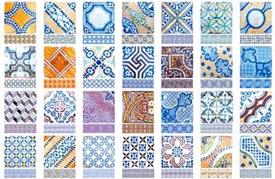 A Guide To Recognizing Tile: The Mediterranean Tile Poster