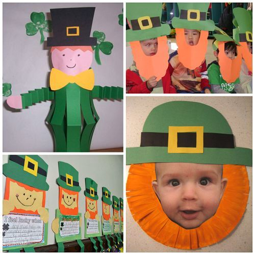 Leprechaun Crafts For Kids To Make On St Patty S Day