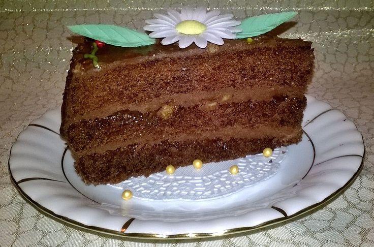 Mydło i powidło.: Wspaniały tort czekoladowo-pomarańczowy