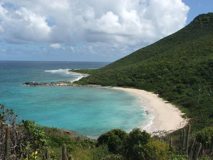 It takes a hike, but Petites Cayes Beach, St. Maarten - Netherland Antilles, is a secluded piece of paradise.
