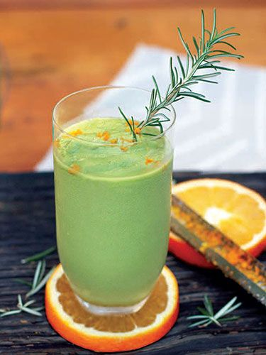 10 Smoothies We Can't Stop Sipping - Rosemary Orange