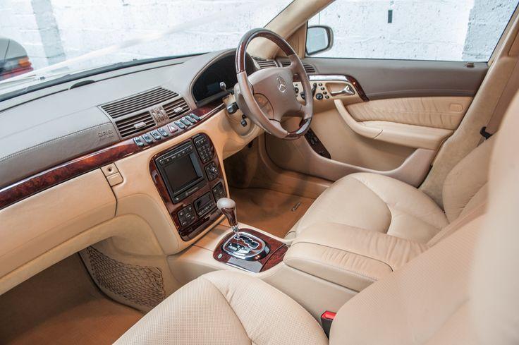 Gold Choice Wedding Cars - S Class Saloon Gallery - Glasgow Wedding Cars Service - Gold Choice Mercedes Benz S Class interior