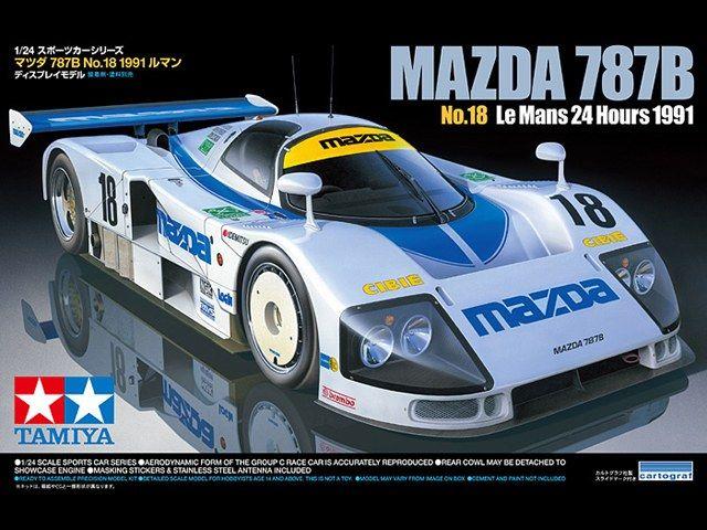 Boxart MAZDA 787B 24326 Tamiya