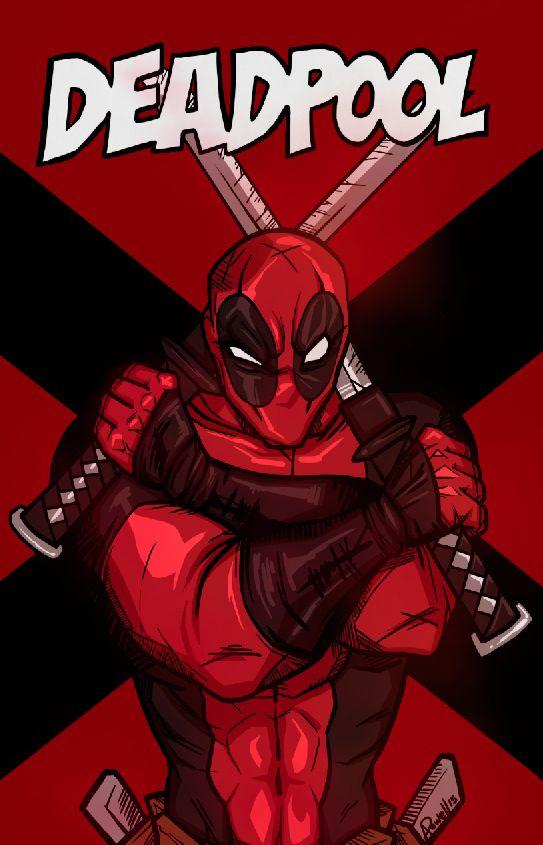 #Deadpool #Fan #Art. (Deadpool) By:Sharkhette. ÅWESOMENESS!!!™ ÅÅÅ+