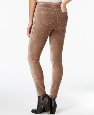 Style & Co Corduroy Leggings, Created for Macy's - Ivory/Cream XXL
