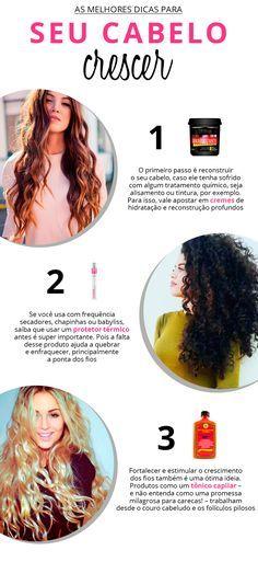 Roube as dicas mais valiosas para o seu cabelo crescer mais rápido!